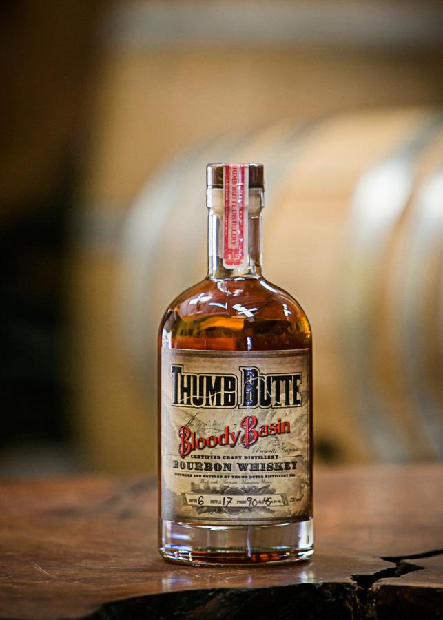 Bloody Basin Bourbon Arizona Whiskey Vodka Gin And Rum Thumb Butte Distillery